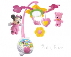 Karusėlė virš lovytės Disney baby Minnie Light Up