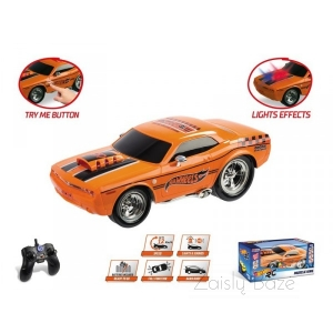 Automobilis  RC valdomas Hot Wheels MUSCLE KING