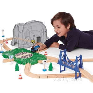Imaginarium 72 Piece Big Mountain Train Traukinių trasa