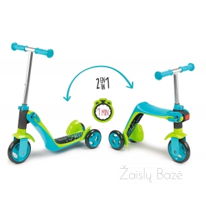 Paspitukas Smoby Reversible 2 in 1 Scooter Learning Bike
