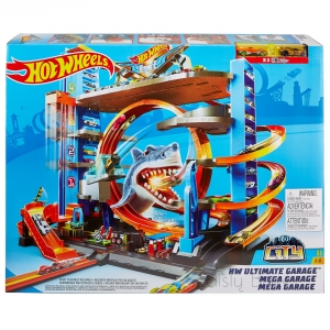 Hot Wheels City Ultimate Garage garažas