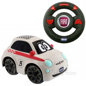 Automobilis RC Chicco Turbo Touch Fiat 500 Remote Control Car