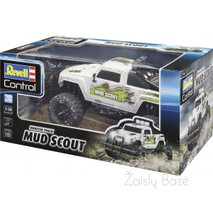 Automobilis RC Moster Truck MUD SCOUT