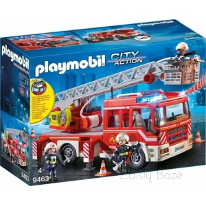 Playmobil 9463 Fire Engine with Ladder