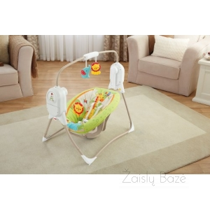 Fisher Price supynės Sunny days SpaceSaver Cradle N Swing