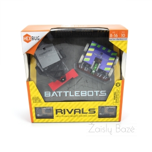 Battlebots žaislas Rivals HEAD-TO HEAD REMOTE CONTROL COMBAT