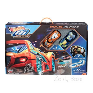 "Lenktynių trasa ""Hot Wheels Ai-Intelligent Race System"""