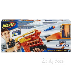 Nerf N-Strike Elite Demolisher 2 in 1 šautuvas