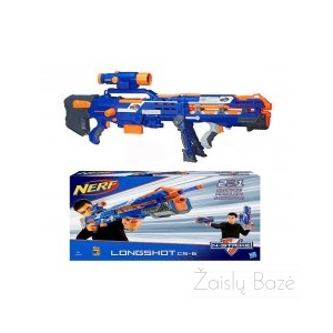 Nerf N-Strike Elite Long Shot CS-6 šautuvas