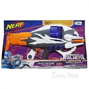 Nerf Alien Menace Incisor šautuvas