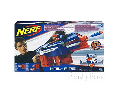 Nerf N-Strike Elite Hail-Fire šautuvas