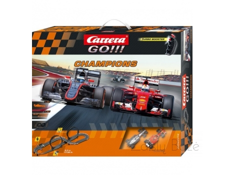 Carrera GO!!! 1:43 Scale Slot Racing System Champions, Turbo Booster